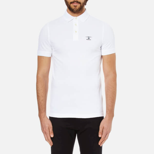 Barbour Men's Heritage Joshua Polo Shirt - White