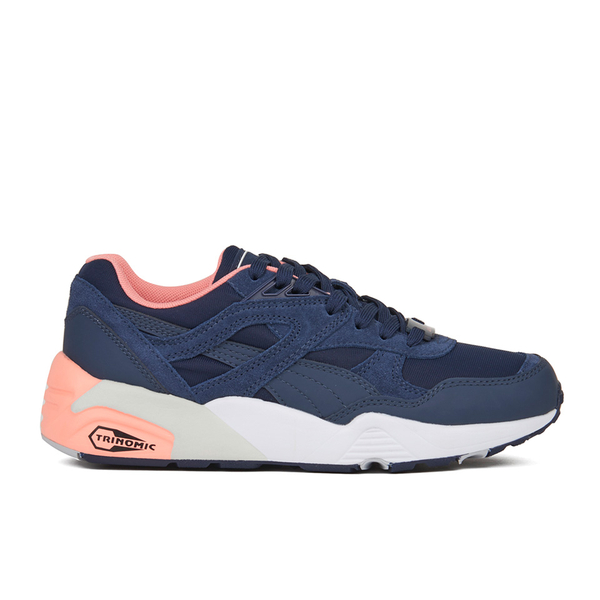 Puma Women's R698 Filtered Low Top Trainers - Peacoat/Pink