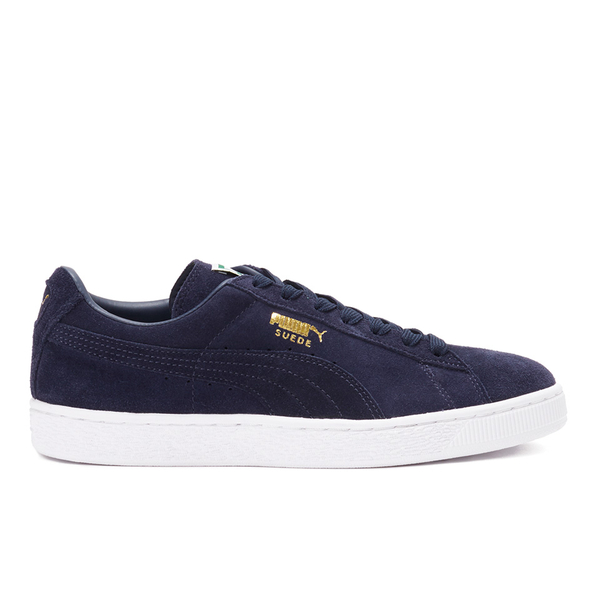 Puma Men's Suede Classic + Trainers - Peacoat/White