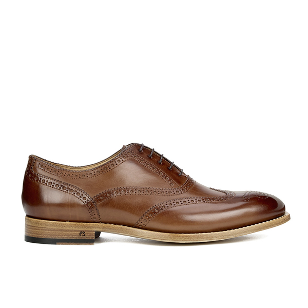Paul Smith Shoes Men's Christo Leather Brogues - Tan Parma ...