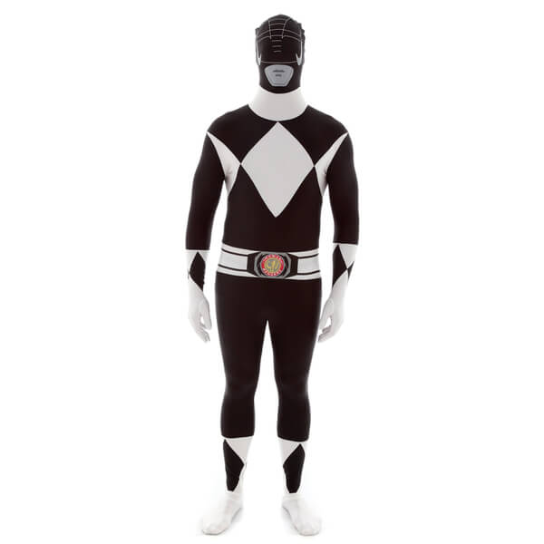 Morphsuit Adults' Power Rangers Black