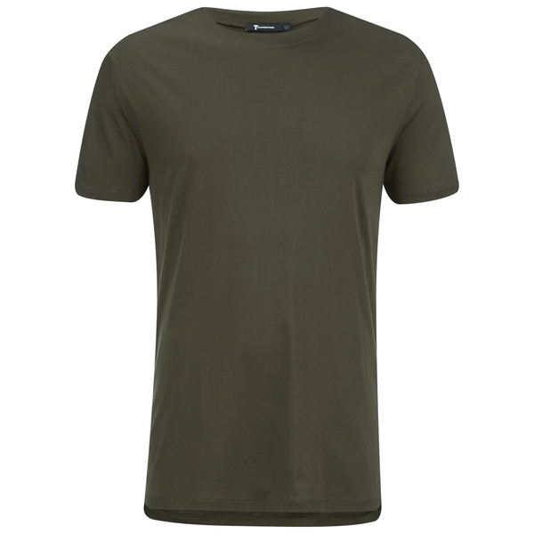 T by Alexander Wang Men's Oversized T-Shirt - Army