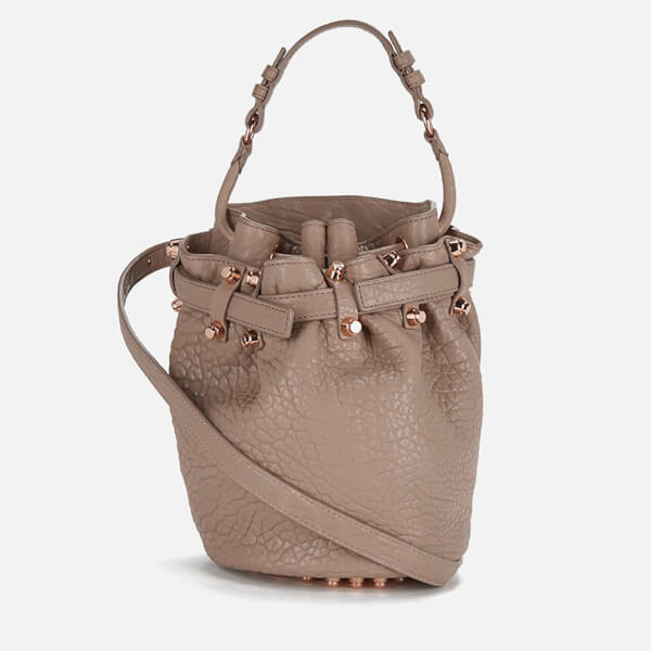 Alexander Wang Women's Diego Small Pebble Leather Bag - Latte