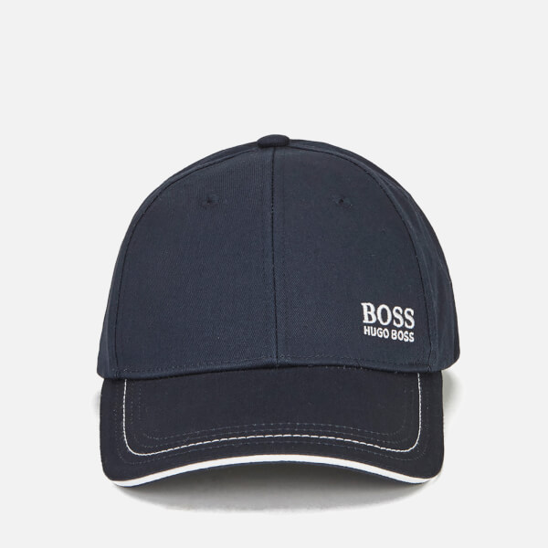 BOSS Green Men's Small Logo Cap - Navy