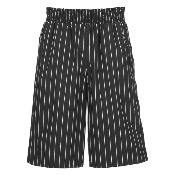 Opening Ceremony Men's Pinstripe Boxing Shorts - Black