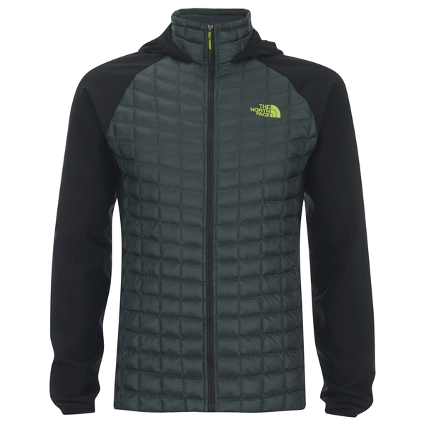 the north face men 39 s thermoball hybrid hoody spruce. Black Bedroom Furniture Sets. Home Design Ideas