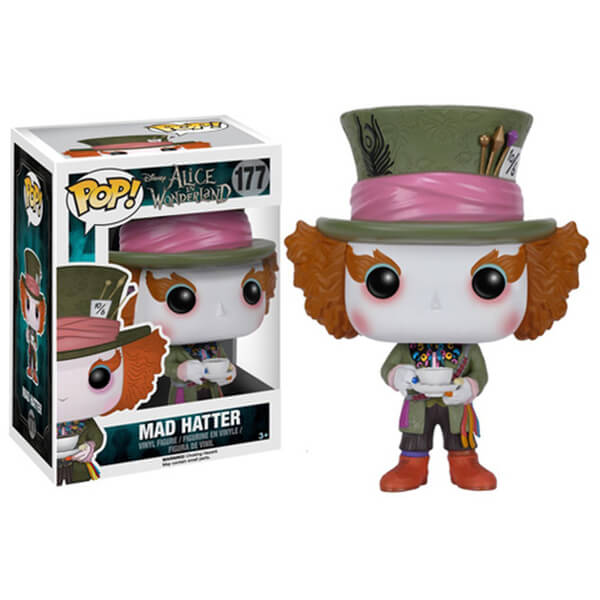 Disney Alice in Wonderland Mad Hatter Pop! Vinyl Figure
