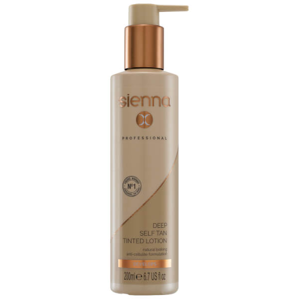 Sienna X Deep Glowing Self Tan 200ml