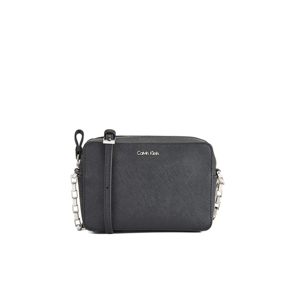 7531e4ad90d1 Calvin Klein Women s Sofie Micro Crossbody Bag - Black  Image 1