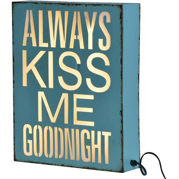 Bark & Blossom Kiss Me Light Box