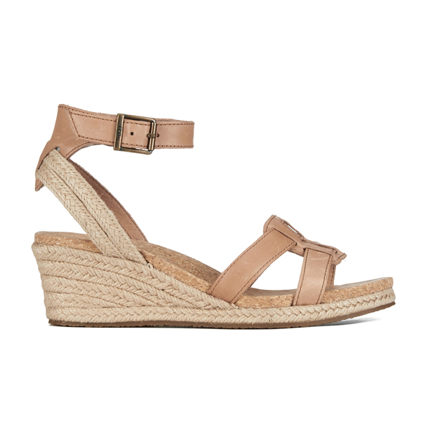 UGG Women's Maysie Wedged Sandals - Tawny: Image 1
