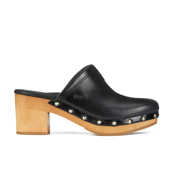 UGG Women's Kay Leather Clogs - Black