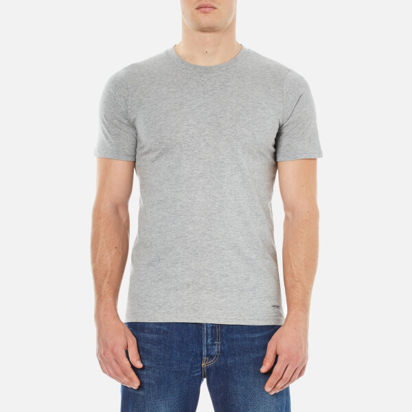 Carhartt Men's Standard Crew Neck Twin Pack T-Shirt - White/Grey