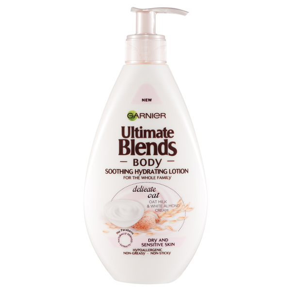 Loción corporal Ultimate Blends Delicate Oat Milk Lotion de Garnier Body (250 ml)