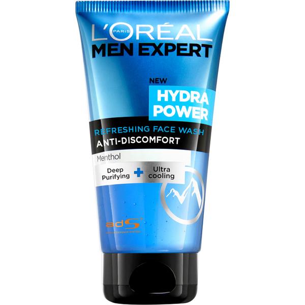 Nettoyant visage Men Expert HydraPower Rafraîchissant de L'Oréal Paris (150 ml)