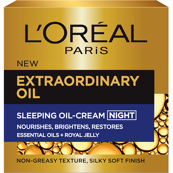 L'Oréal Paris Extraordinary Oil Sleeping Oil Night Cream (50 ml)