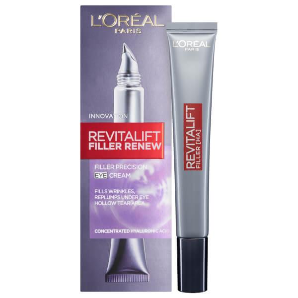 Crème de soin pour les yeux Revitalift Filler Renew de L'Oréal Paris (15ml)