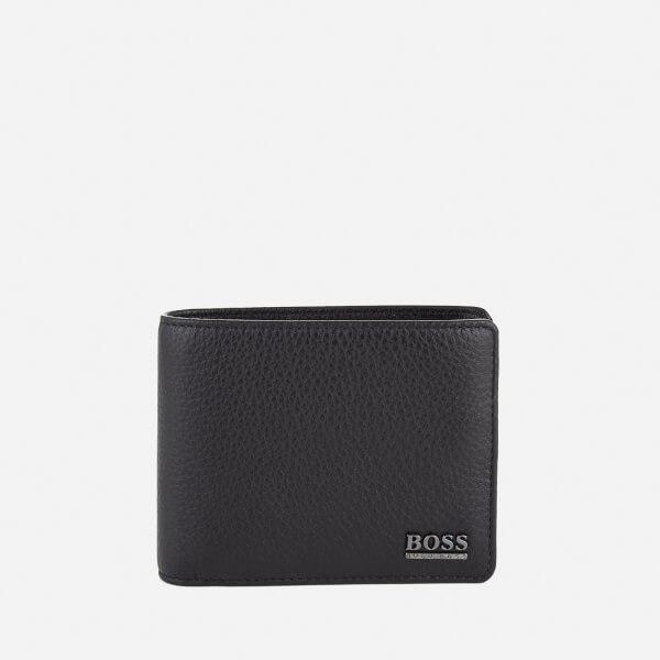 BOSS Hugo Boss Men's Moneme Leather Wallet - Black
