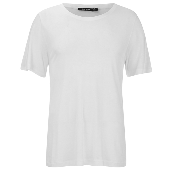 BLK DNM Men's T-Shirt 20 Classic Crew Neck T-Shirt - White