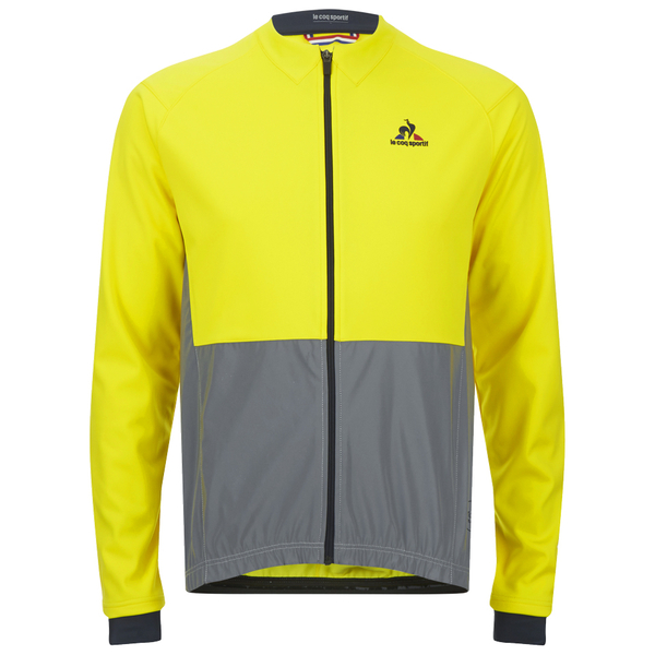 le coq sportif performance classic n2 jacket yellow probikekit canada. Black Bedroom Furniture Sets. Home Design Ideas