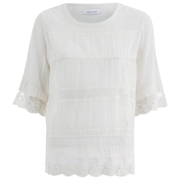 Samsoe & Samsoe Women's Dard Top - Clear Cream