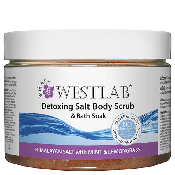 Exfoliant corporel Detox au sel de l'Himalaya Westlab