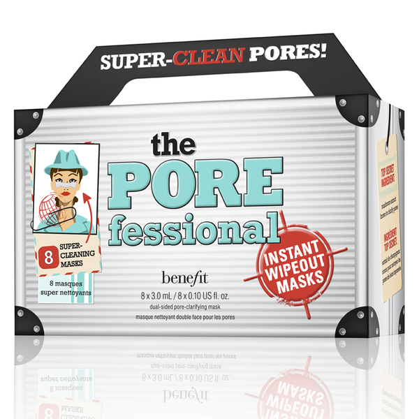 benefit The POREfessional Instant Wipeout Masks (8 Masks)
