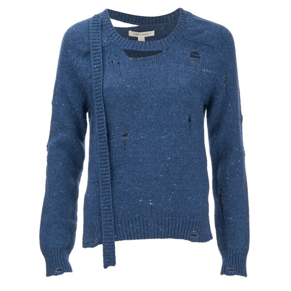 Marc Jacobs Women's Long Sleeve Cashmere Jumper - Blue