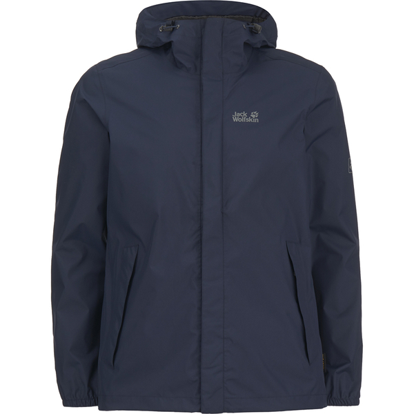 Cheap Sale 2018 Newest Cost Cloudburst Jacket In Navy - Night blue Jack Wolfskin Cheap Sale With Mastercard Cheap Sale Finishline BxkiRp9ko