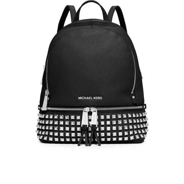 MICHAEL MICHAEL KORS Women's Rhea Studded Zip Backpack - Black