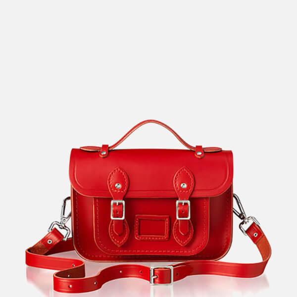 The Cambridge Satchel Company Women's Mini Magnetic Satchel - Red