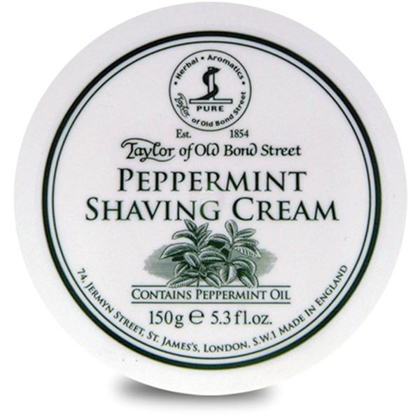 Crème de rasage à la menthe poivrée Taylor of Old Bond Street(150 g)