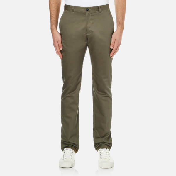 A.P.C. Men's Pocket Chinos - Kaki
