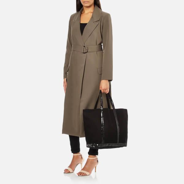 vanessa bruno athe women 39 s cabas medium zip tote bag black free uk delivery over 50. Black Bedroom Furniture Sets. Home Design Ideas