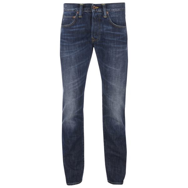 Edwin Men's ED55 Relaxed Tapered Denim Jeans - Breeze Used