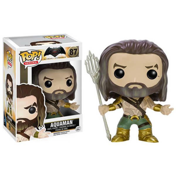 DC Comics Batman v Superman Dawn of Justice Aquaman Pop! Vinyl Figure