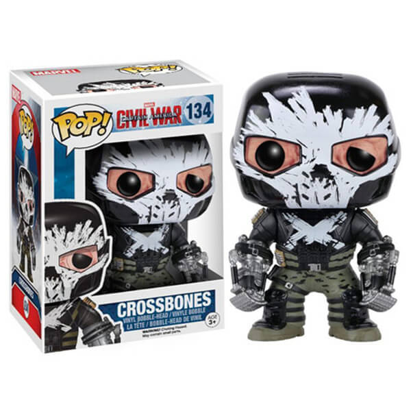 Marvel Captain America Civil War Crossbones Pop! Vinyl Figure