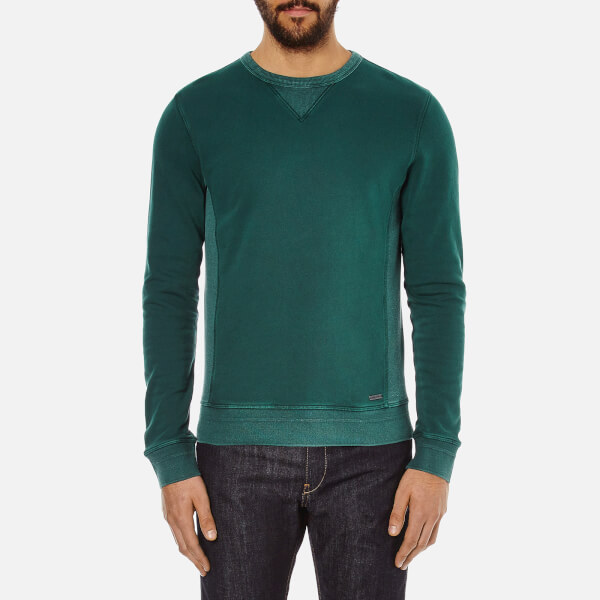BOSS Orange Men's Wheelo Sweat - Green