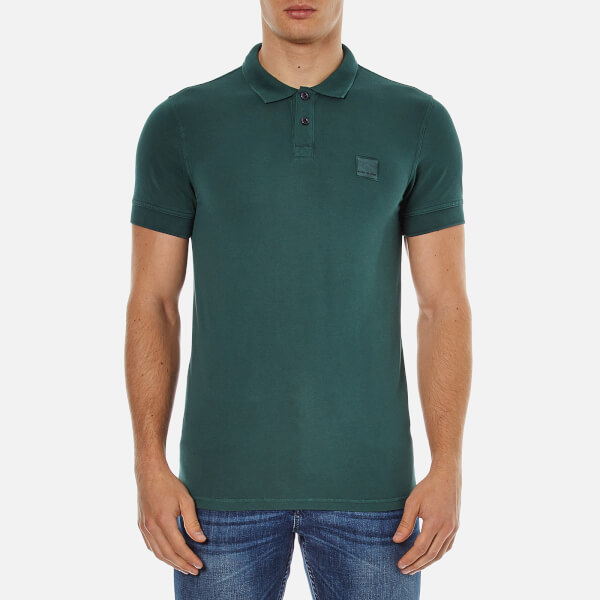 BOSS Orange Men's Pascha Polo Shirt - Green