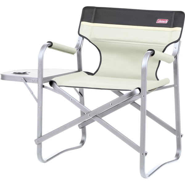 Coleman Deck Chair With Table Khaki Garden Thehut Com
