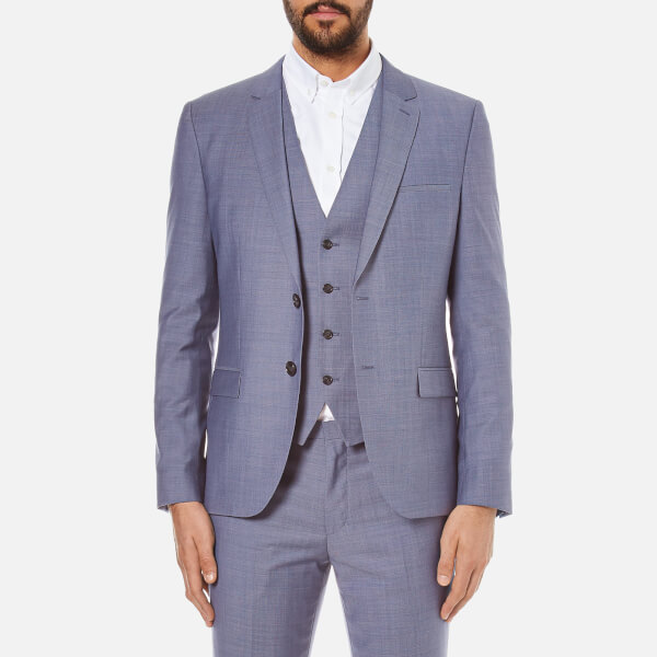 HUGO Men's Slim Fit Alin/Wyns/Hetlin 3 Piece Suit - Pale Blue