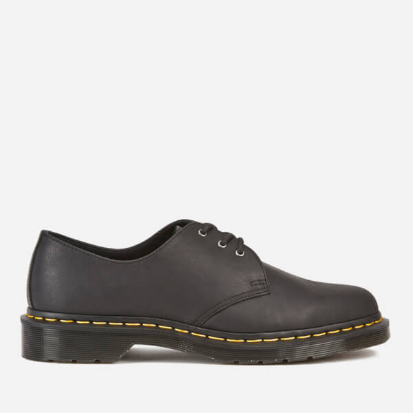 Dr. Martens Men's Core 1461 Leather 3-Eye Shoes - Black