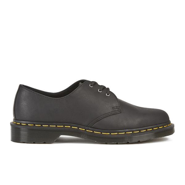 Dr. Martens Men's Core 1461 Leather 3-Eye Shoes - Black