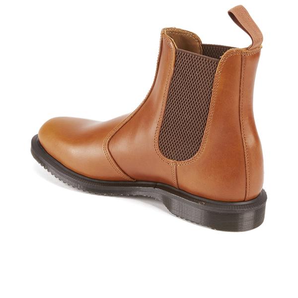 aa42ed85455c Dr. Martens Women s Kensington Flora Aniline Leather Chelsea Boots - Oak   Image 4