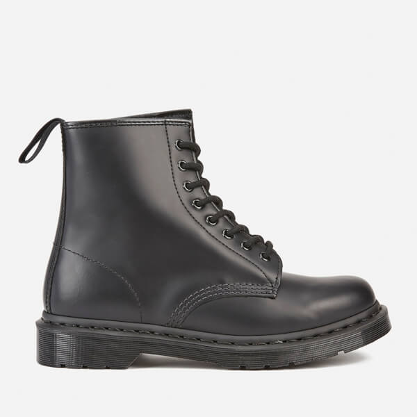 Dr. Martens Men's Core 1460 Mono Smooth Leather 8-Eye Lace-Up Boots - Black