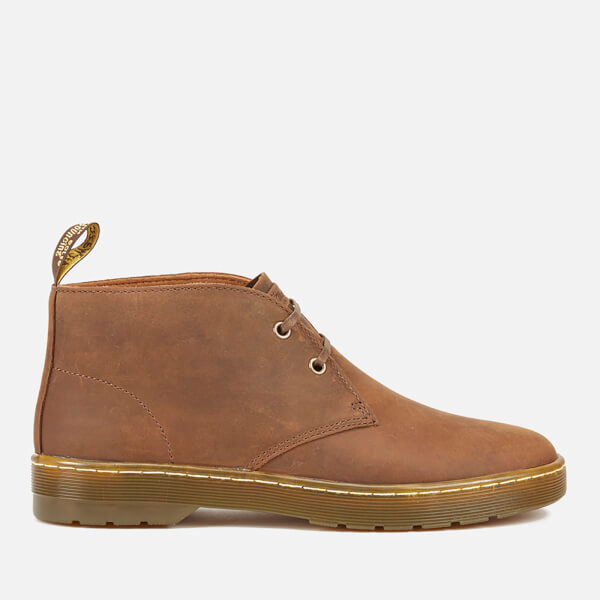 Dr. Martens Men's Cabrillo Crazyhorse Leather Desert Boots - Gaucho