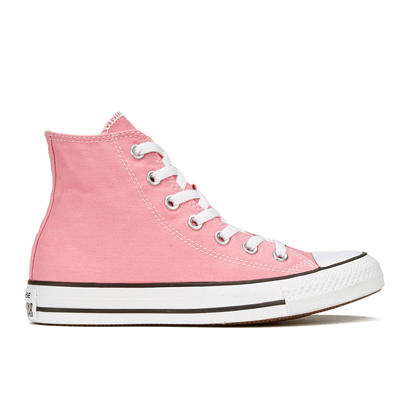 a277f16be05e Converse Women s Chuck Taylor All Star Hi-Top Trainers - Daybreak Pink  White