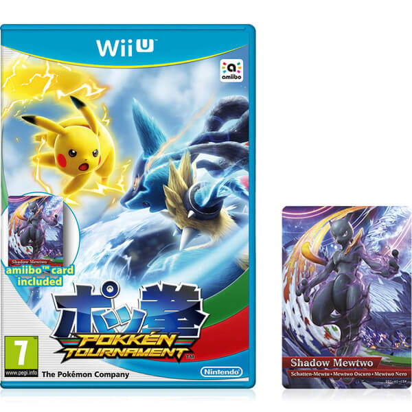 Pokkén Tournament + Shadow Mewtwo amiibo Card