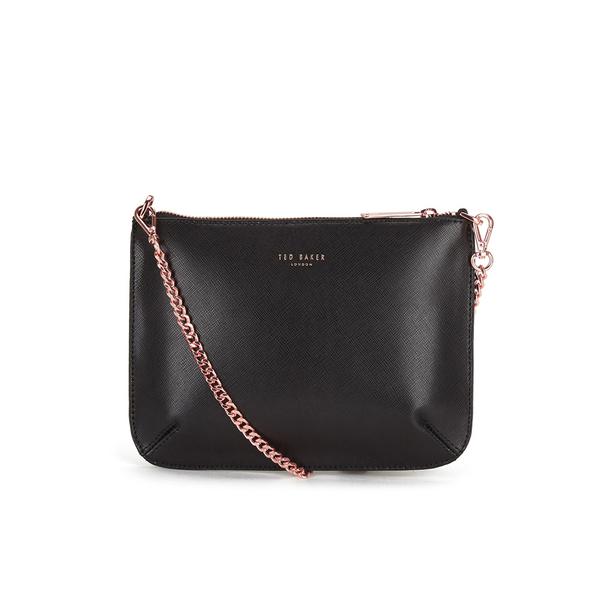 Ted Baker Women S Nara Crosshatch Leather Crossbody Bag