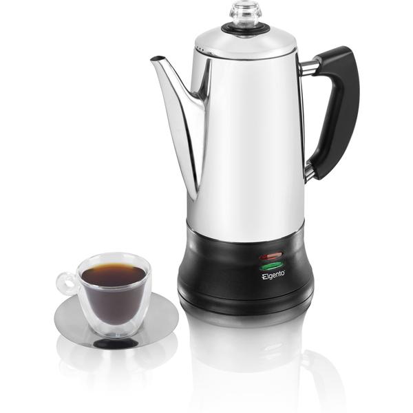 Elgento E011/MO Coffee Percolator - Metallic